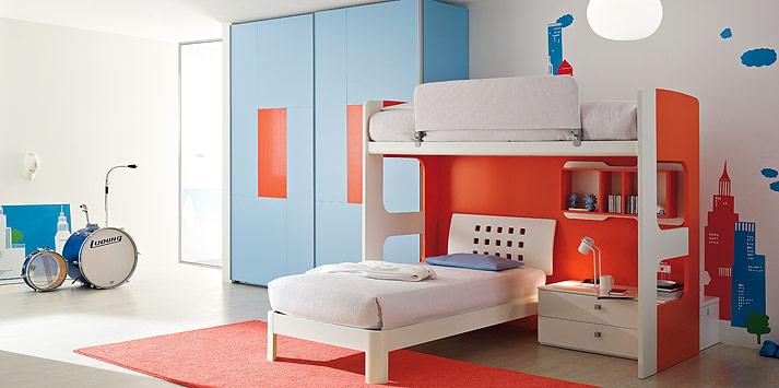 blue-orange-bed-room-1