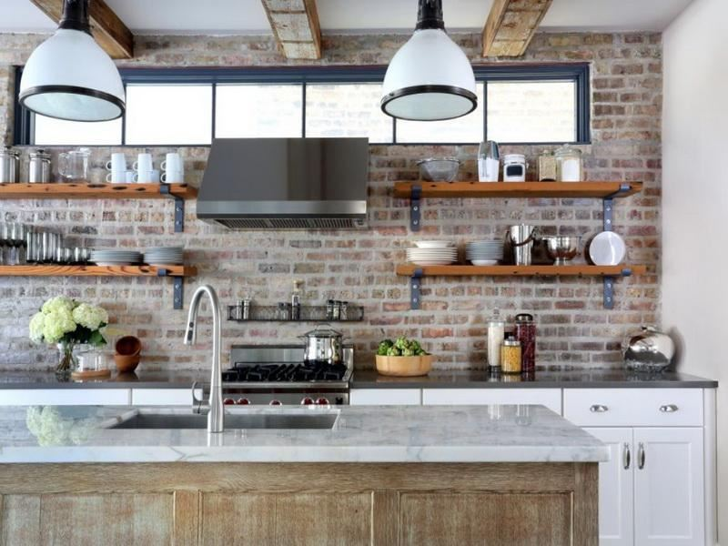 industrial-kitchen-with-open-shelving