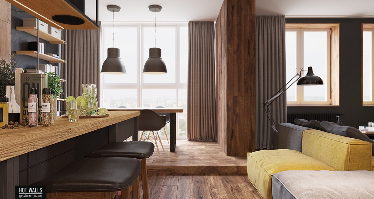kitchen-bar-dining-space-wood-flooring