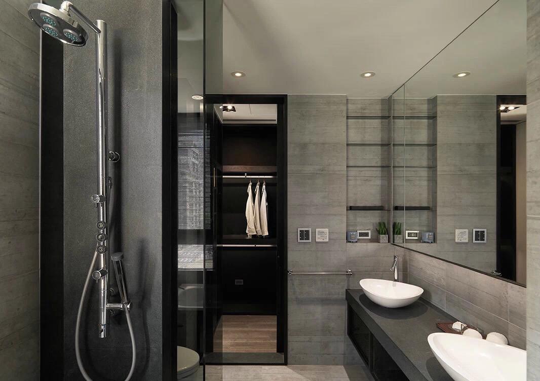 minimalistic-monochromatic-bathroom