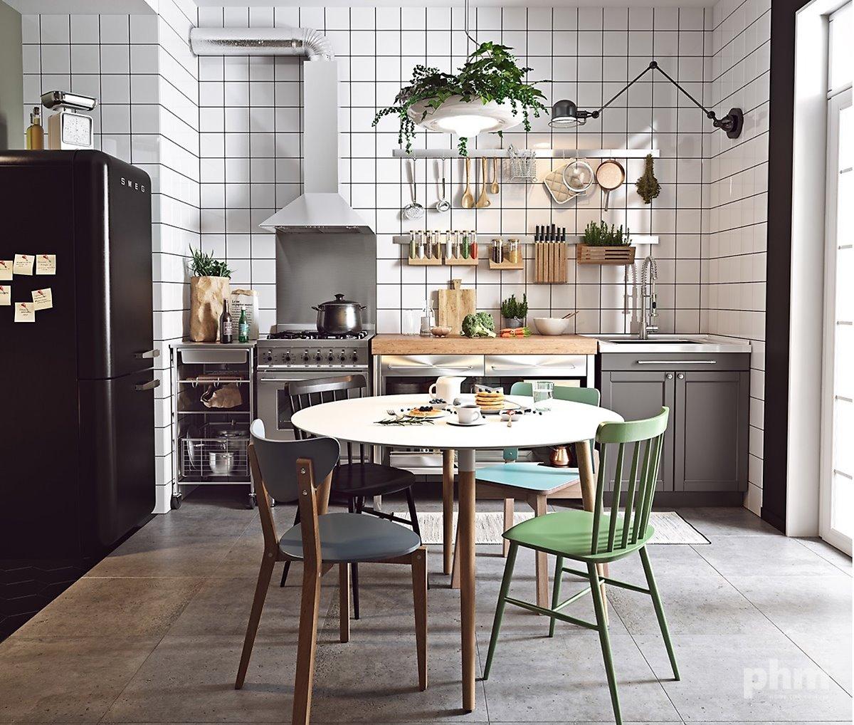 Bohemian Dining Room 북유럽 스타일로 나만의 주방을 꾸미는 인테리어 팁 문화가 있는 집 Phm Zine