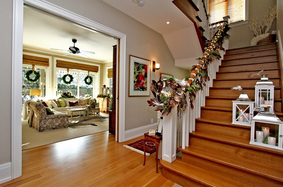 think-of-colors-beyond-red-and-green-for-the-christmas-staircase-garland